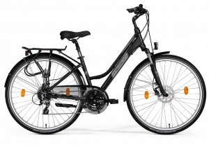 MERIDA FREEWAY 9200 DISC LADY SEMIMATT BLACK/GREY