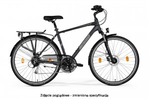 MERIDA FREEWAY 9300 DISC MAN SEMIMATT GRAPHITE/GREY