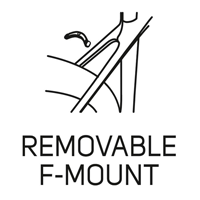 REMOVABLE F-MOUNT